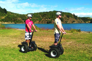 SegWai-Waiheke-fun-on-segways-beach